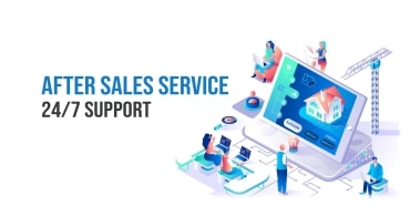 After Sales Service 24/7 Support