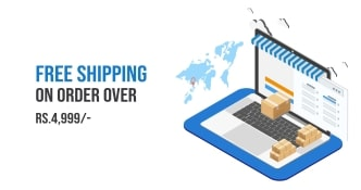 Free Shipping on Orders over Rs. 4,999/-